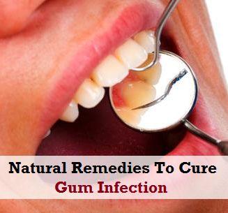 Natural Remedies For Gum Infection. Lots of good info: salt water, salt