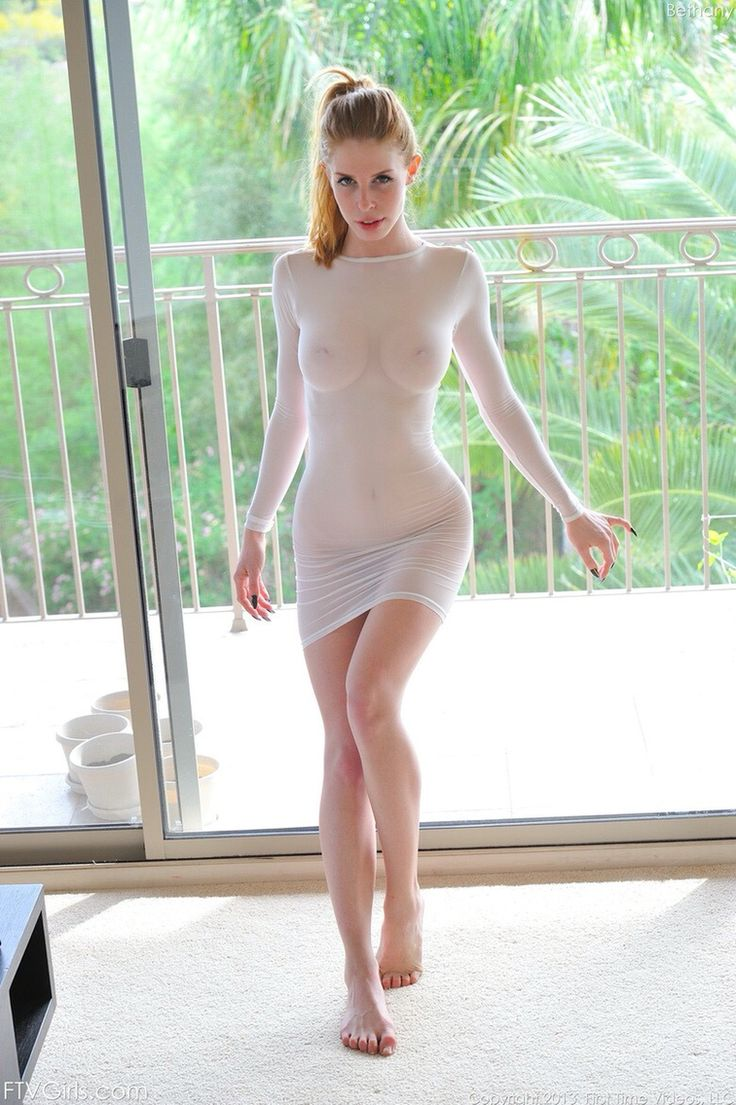 See through dress pussy