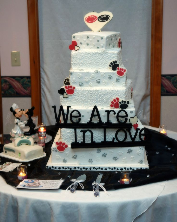 Food Lion Wedding Cakes: 59 Best Images About Penn State-Themed Engagements