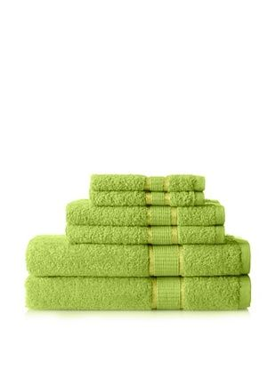 50% OFF Espalma Ambassador 6-Piece Towel Set, Lime