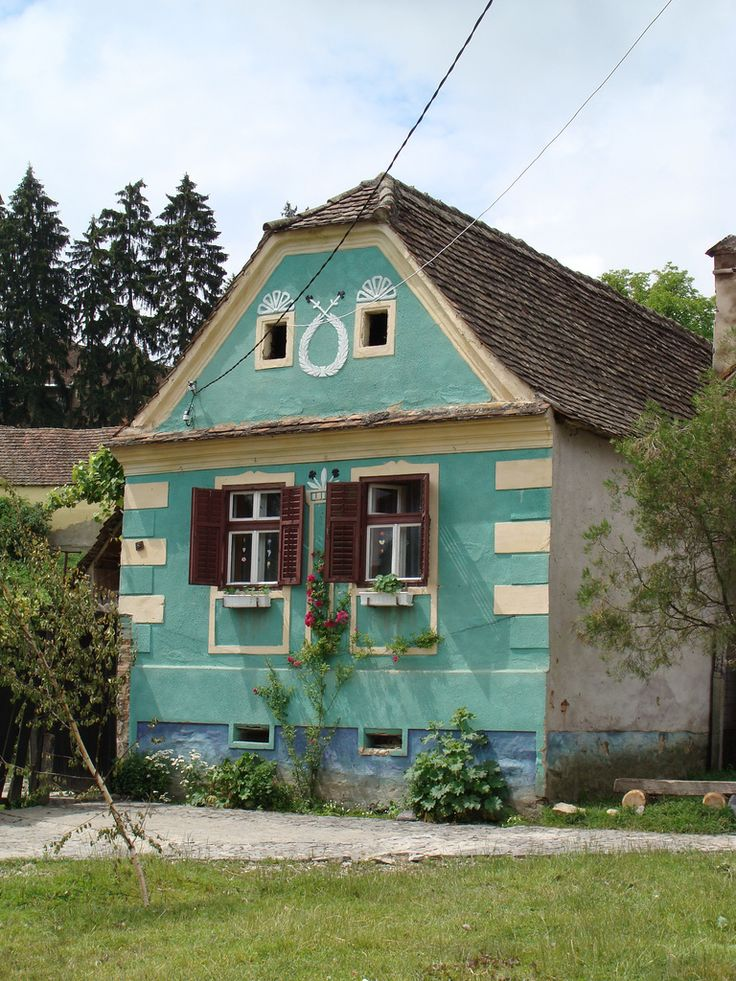 Traditional Saxon house - Transylvania, Romania