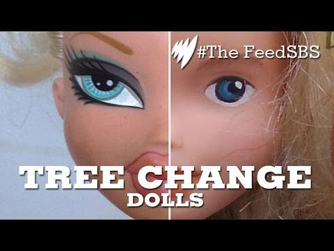 She Takes Off A Doll's Face With Nail Polish Remover. When You See The Result You'll Want One!