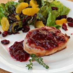 Cranberry Wine Pork Chops @ allrecipes.com.au