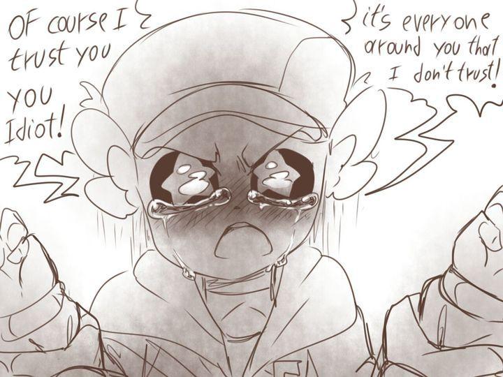 Goth: ¿Por qué no confías en mí? ¿Por qué no entiendes que nunca voy a engañarte?