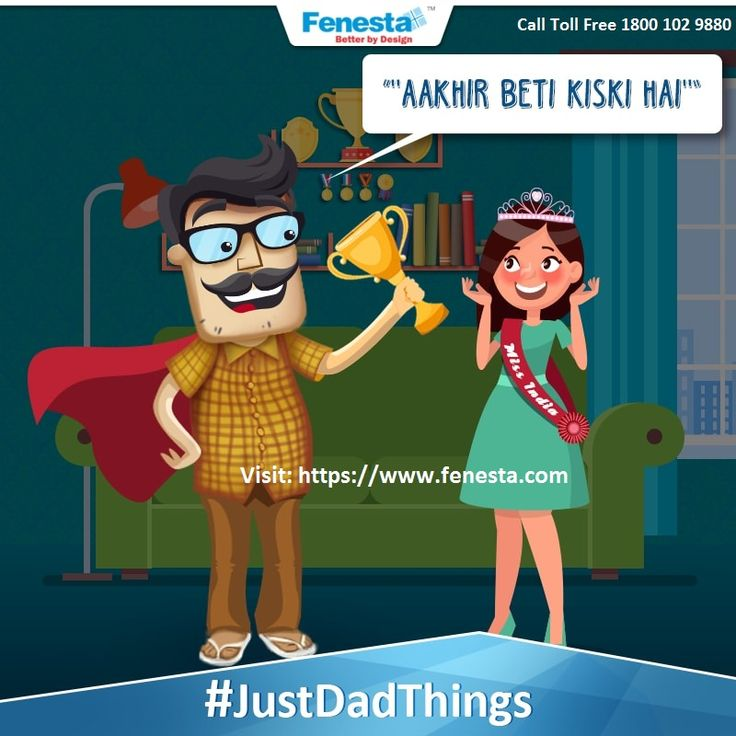 That moment when your Father is proud of you but he expresses it in his own peculiar way!. Exciting prizes awaits you just Participate in contest, share your Father's most used one liner with us to win exciting hampers.