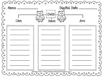 Owl Writing FREEBIE!    A day in first grade: Getting ready for a week of owls!