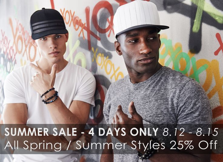 Summer Sale - 4 Days Only.  8.12 - 15.  25% off ALL Spring / Summer Styles http://gentsco.com/shop/