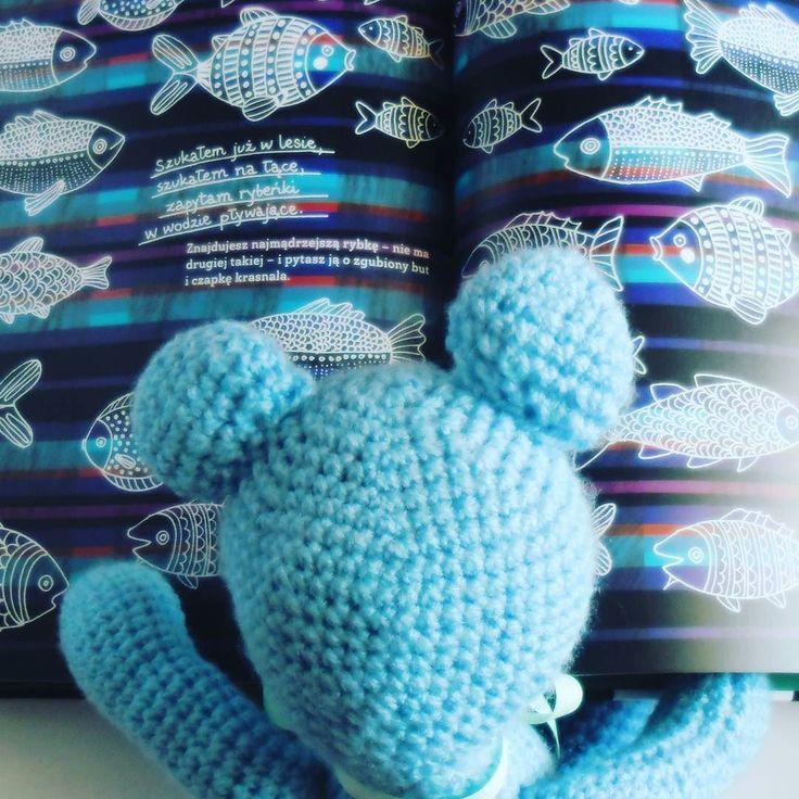 Na blogu nowy wpis książkowy na #DzieńDziecka #childrensday #gifts #books #bookstagram #fishes #folk #teddybear #crochet #crochettoy #StefanMiś #Stefanczyta #GawraStefana