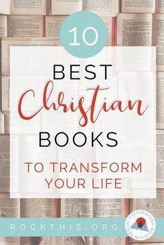 Looking to update your reading list? Looking for books that feed your mind as well as your soul? This is it! Check out this list of best Christian books. #christianbooks