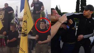 Σημαιοφόρος της Χ.Α. ο μποξέρ που με δεξί κροσέ χτύπησε τον Κουμουτσάκο
