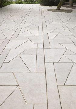 Geometric Pavers | We Are Still and Reflective | Munster | Martin Boyce