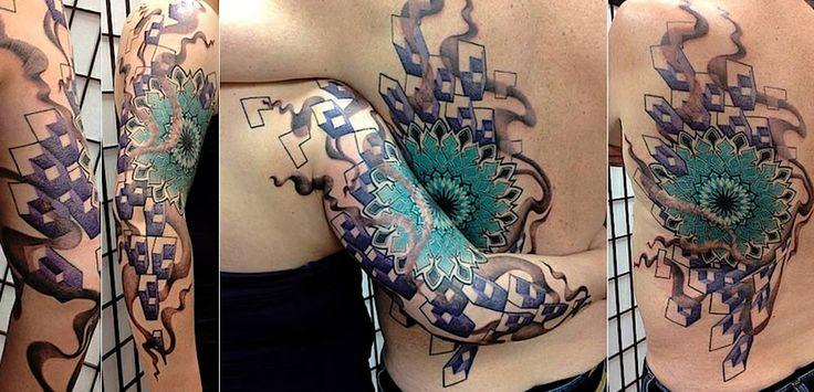 Ya pasaron de moda los Tattoo donde ponías el nombre de tu novio o novia! Esto es lo de hoy! WOW!