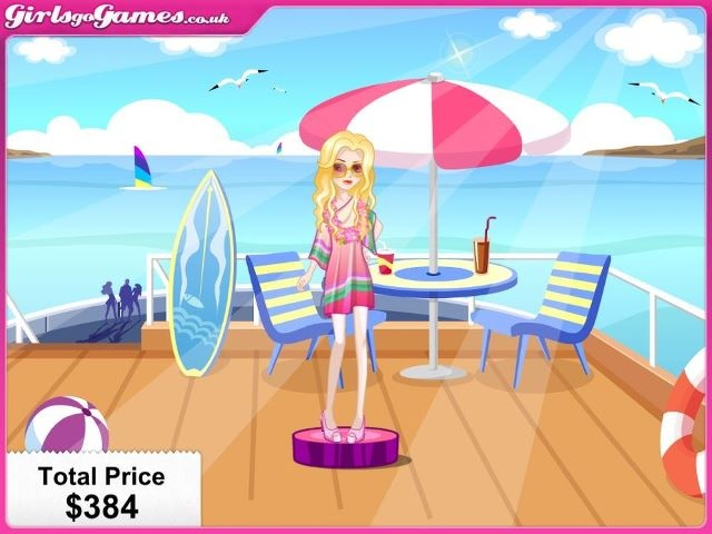 This is the outfit I'd choose to wear on a boat - what about you? Well done Saniya!!!