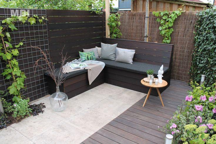 GeoColor 3.0, kleur Twilight Bronze, tegel 60x60cm Volgens mij een interessante optie voor de achtertuin. Water- en vuilafstotend en dus onderhoudsarm.