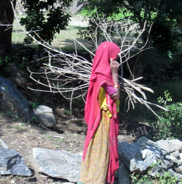 village girl in Rajasthan