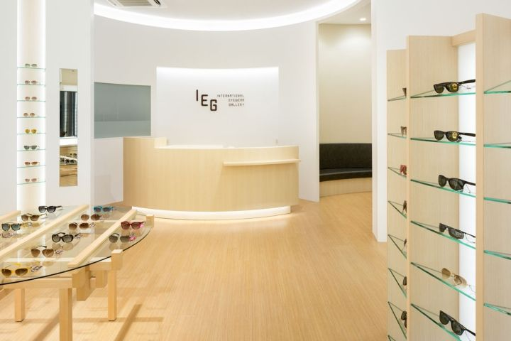 International Eyewear Gallery by SPACE, Shisui – Japan » Retail Design Blog