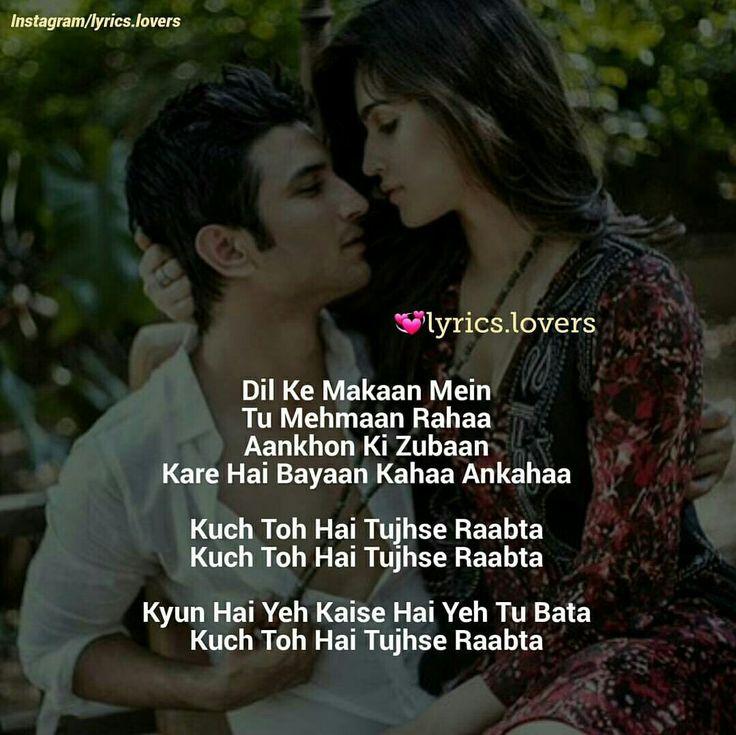 Sun Mere Humsafar Song: Pinterest의 Quotes (Bollywood) 관련 상위 이미지 1068개