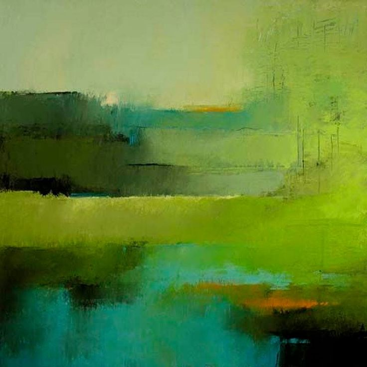The 25 best abstract landscape ideas on pinterest for Abstract nature painting