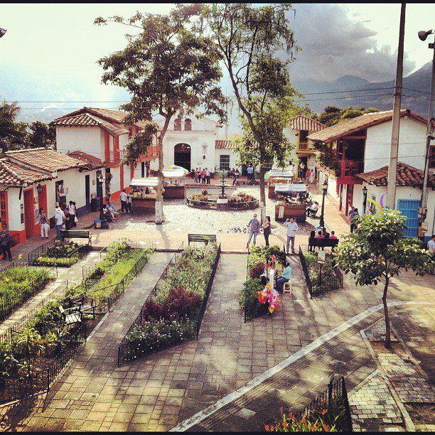 pueblito paisa Medellin, Colombia