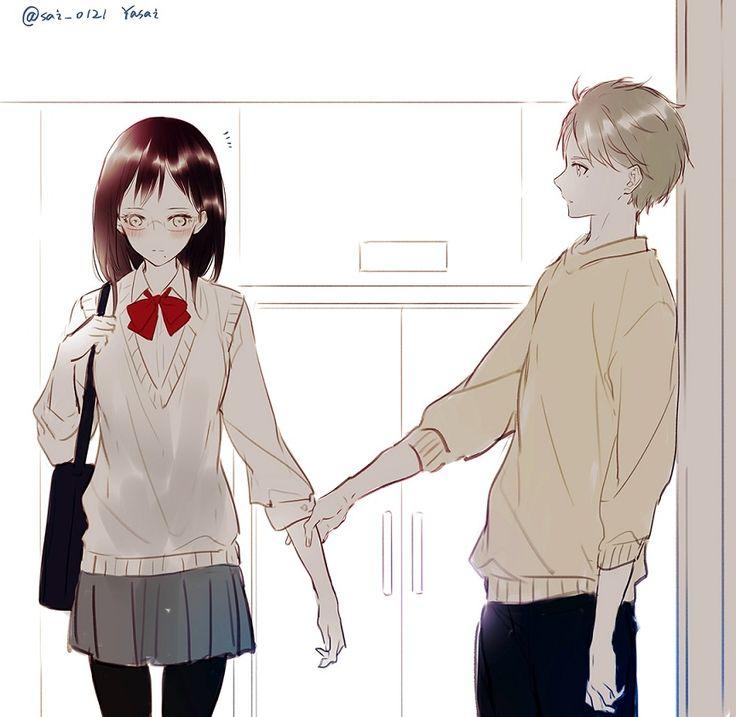 Haikyuu  Shimizu Kiyoko & Sugawara Koushi