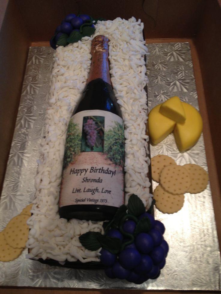 Best 25 Wine Bottle Cake Ideas On Pinterest Bottle Cake