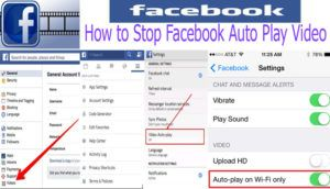 How to Stop Facebook Auto Play Video @ Facebook