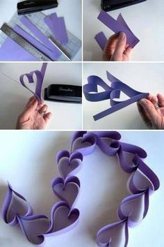 DIY Paper Garland Pictures, Photos, and Images for Facebook, Tumblr, Pinterest, and Twitter