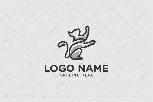 Logo for sale: Cat Logo
