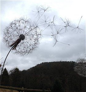 dandelion sculpture - Google Search