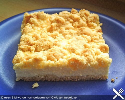 Quark - Streuselkuchen vom Blech (Rezept mit Bild) | Chefkoch.de