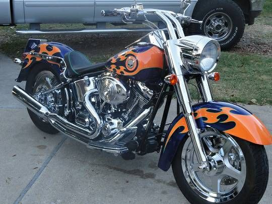 2004 harley davidson fatboy factory custom paint job 80 for Alaska fishing jobs craigslist