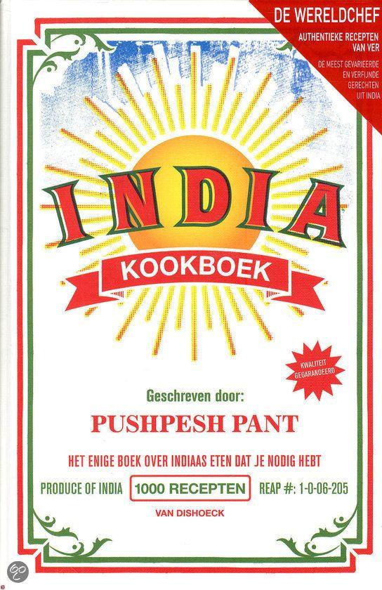 India - kookboek, Pushpesh Pant | 9789000335244