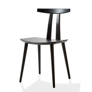 CASANOVA Møbler — Bruunmunch - BMJ111 spisebordstol - sort lakeret bøg