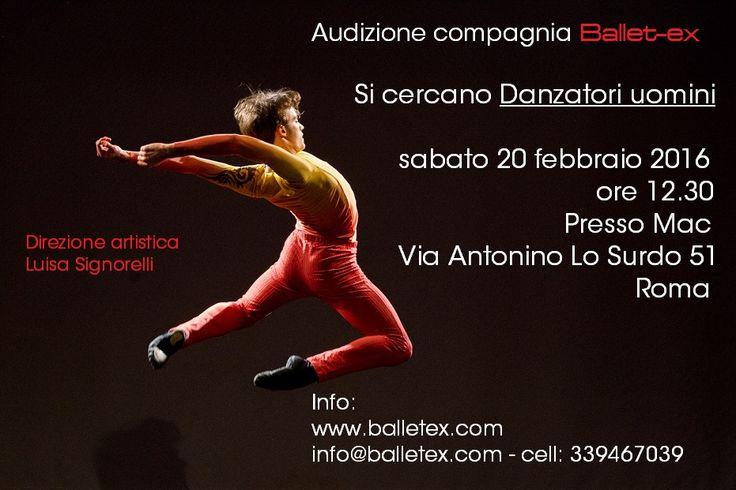 balletex.com - Audizione 2016