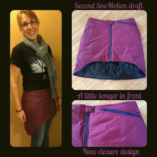 New insulated skirt pattern coming soon!