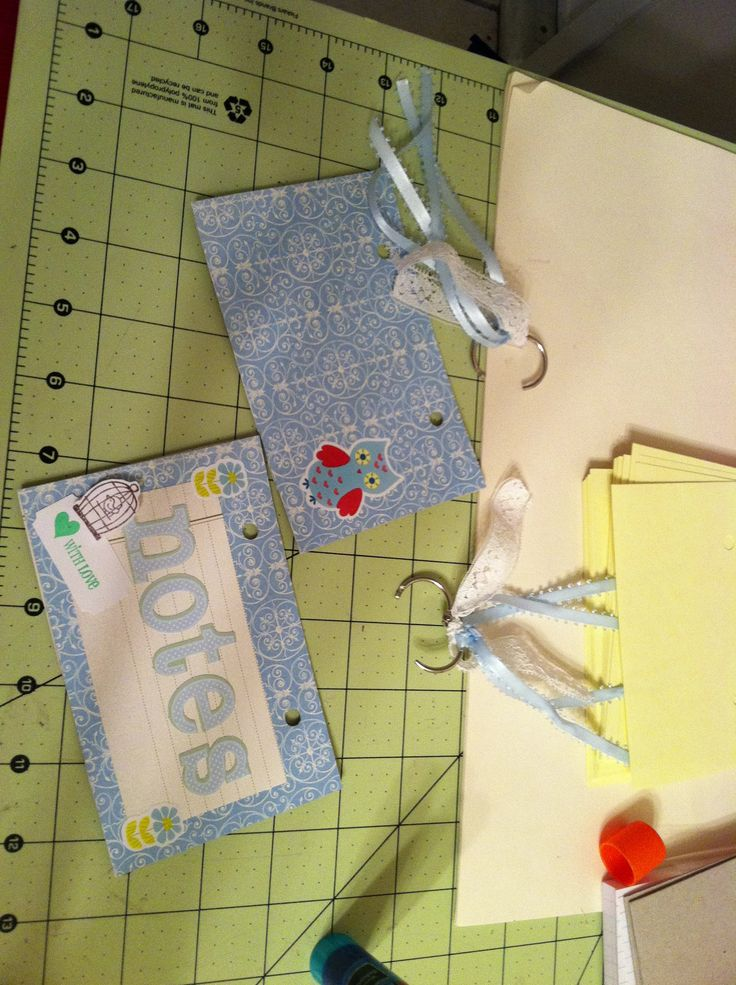 index card notepad front and back  paper crafts cards