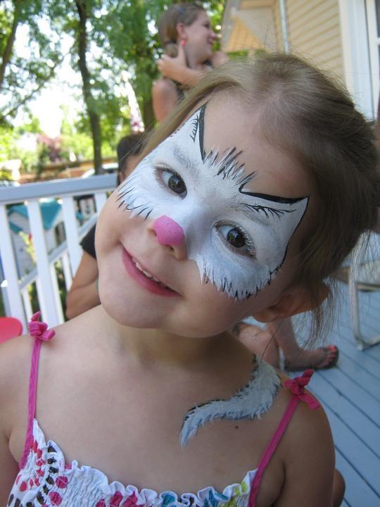 25+ Best Ideas about Kitty Face Paint on Pinterest   Kids ...