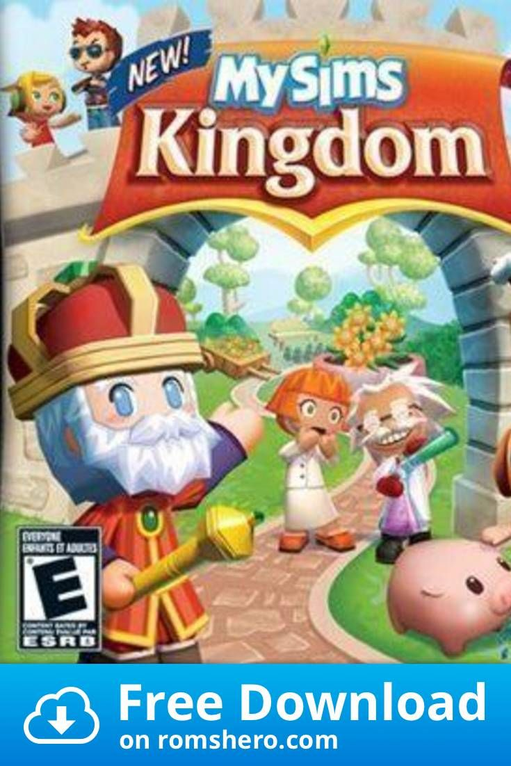 Download Mysims Kingdom Nintendo Ds Nds Rom In 2020 Nintendo