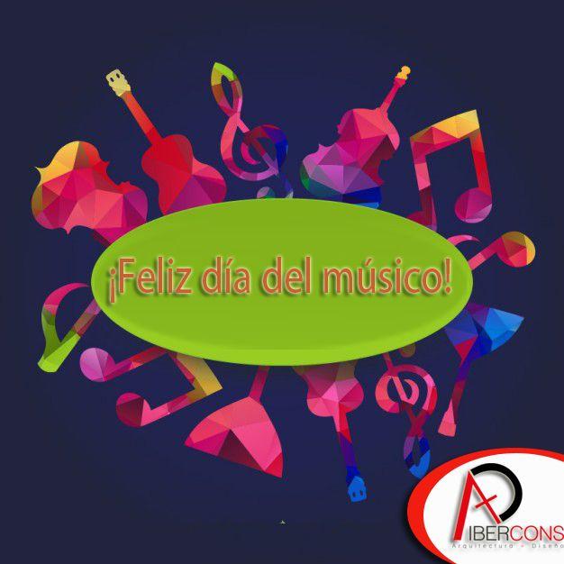 Hoy se celebra el día del músico en Colombia. Ibercons Arquitectura + Diseño les conmemoramos en su día, y recuerden para todos sus proyectos arquitectónicos consultar en: www.ibercons.com.co