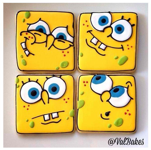Spongebob Cookies :)
