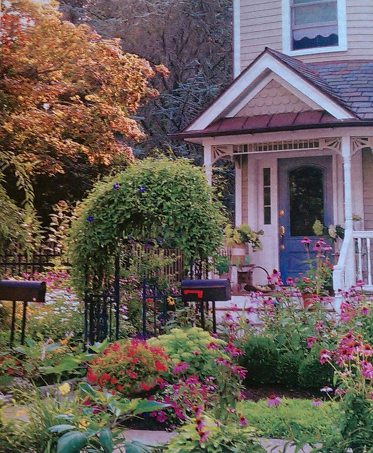 Edwardian Front Garden Design Ideas: Victorian Cottage Front Yard