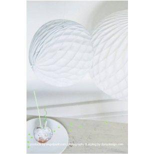 Honeycomb bal white | Engelpunt