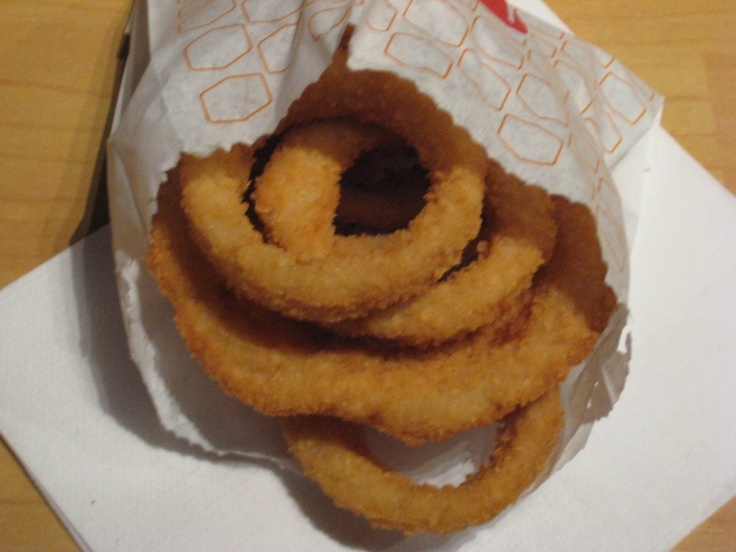 Jack in the Box Onion Rings.  Admittedly, they changed the recipe from what it used to be but still....they're onion rings!