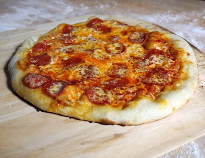 Alton Brown's Pizza Dough Recipe: When pizza is this easy to make, please don't order take out. Your efforts will be rewarded.