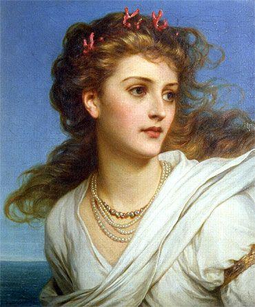 Miranda, 1878 | Sir Frank Bernard Dicksee | Fine Art Painting Reproduction at TOPofART.com