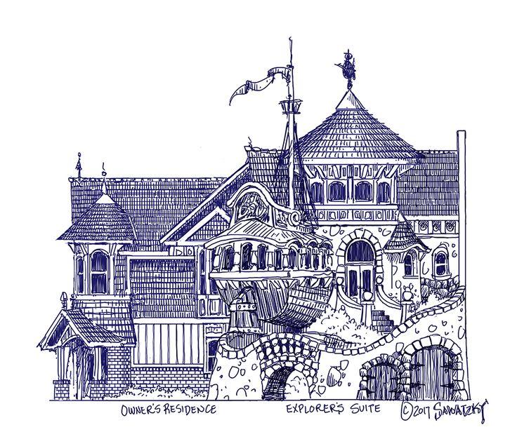 Scale Plans — Hazelnut Inn