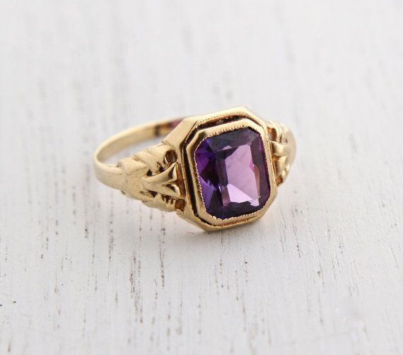 Best 25 Purple stone rings ideas on Pinterest
