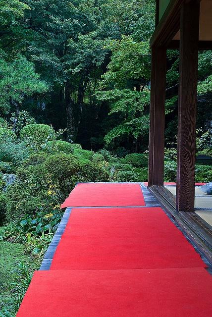Ohara-Sanzenin temple, Kyoto, Japan