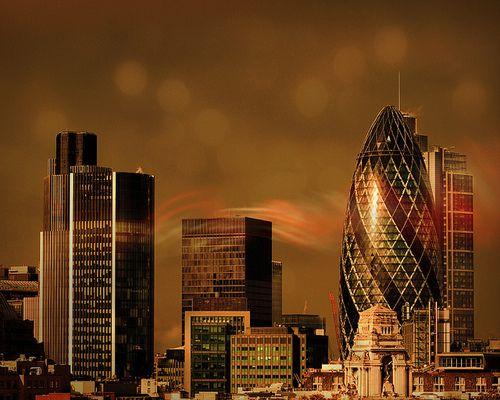 Modern London.