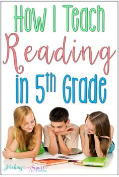 This post breaks down how one teacher teaches reading in 5th grade and how her reading block is structured, including the materials needed.
